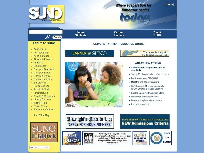 Southern University at New Orleans (With images