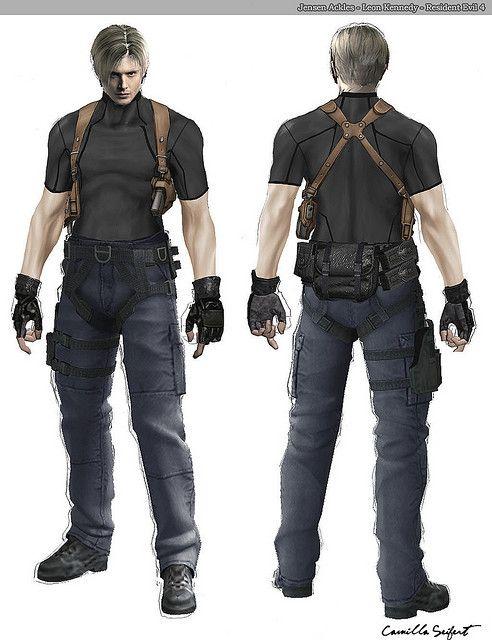 Jensen Ackles Leon Kennedy Resident Evil 4 Resident Evil