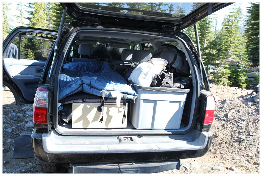 Toyota 4Runner good to sleep in? Toyota 4Runner Forum
