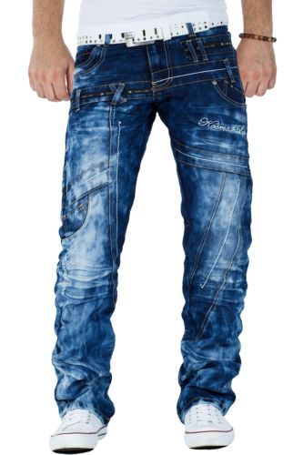 autorisierte Website größte Auswahl von 2019 Super Specials Kosmo Lupo Herren Jeans Cargo Star Hose Denim Dope Swag ...
