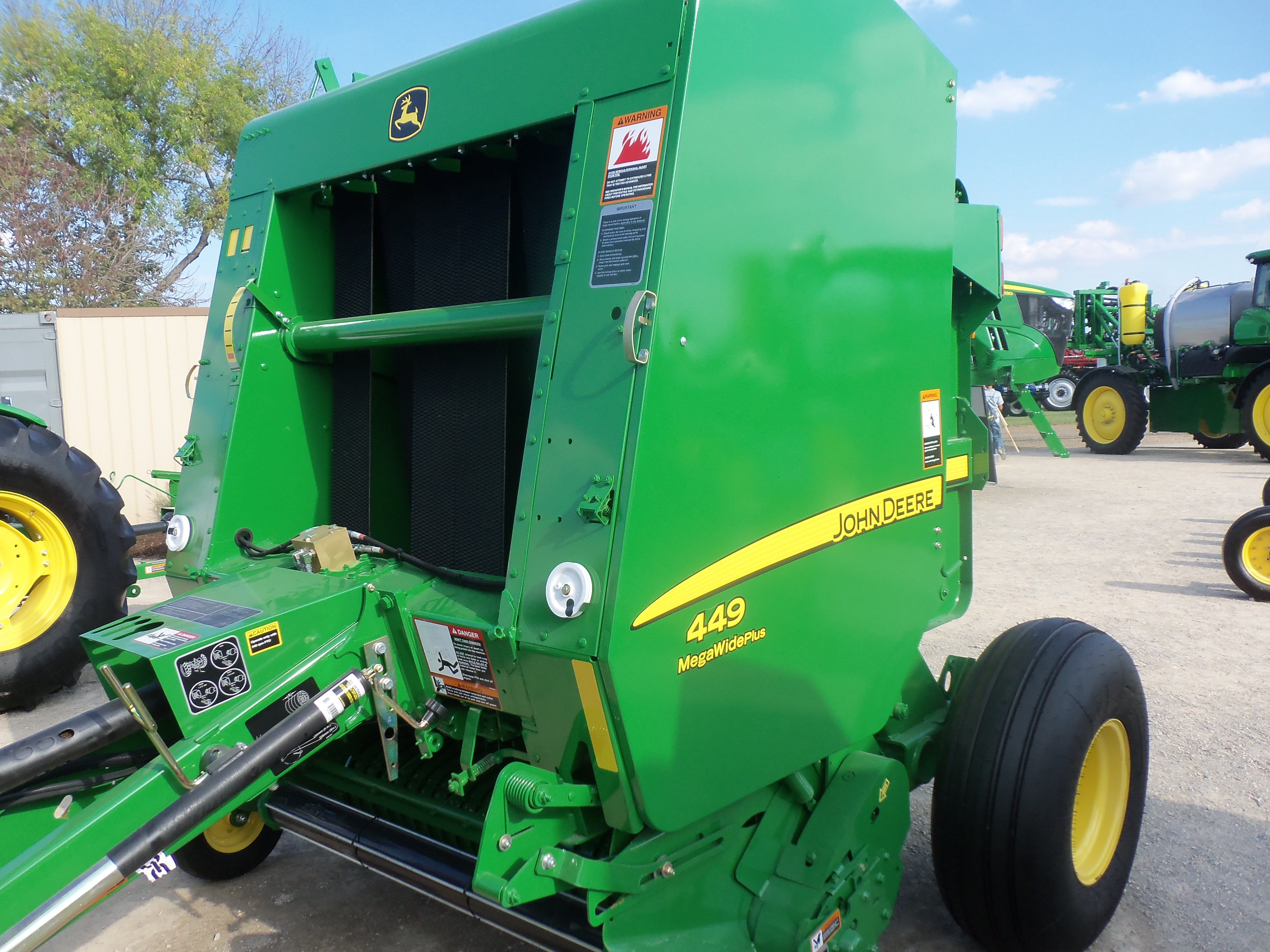 John Deere 7520 amp 567 baler Our Farm Pictures t Farm