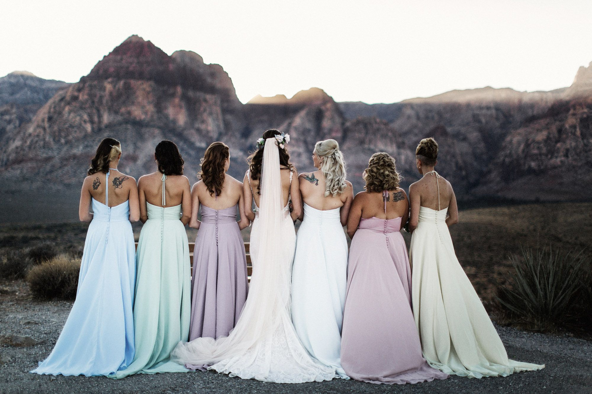 Red Rock Canyon Weddings Dedication Overlook Las Vegas Nevada 2016