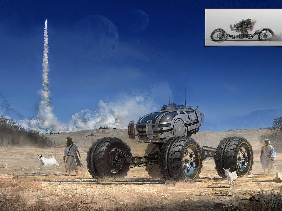 Increibles Dibujos Sci -Fi.....Vehiculos.... - Taringa!