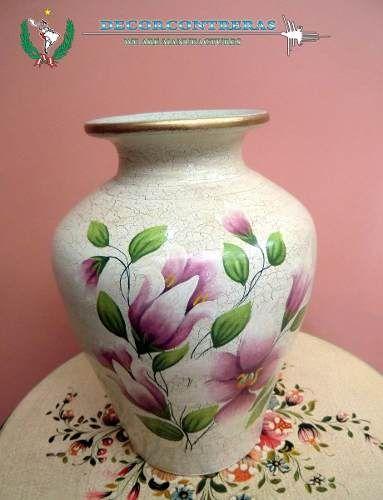 Floreros de ceramica decoracion de sala jarrones - Ceramica decoracion ...