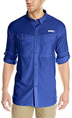 5a0a36b9b15 Amazon.com: Columbia Sportswear Big and Tall Low Drag Offshore Long Sleeve  Shirt, Vivid Blue, Large Tall: Sports & Outdoors