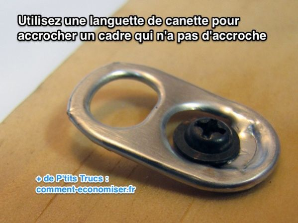 L Astuce Pour Accrocher Un Cadre Qui N A Pas D Accroche Trucs
