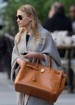 54fadb767a1f Hermes Celebrities olsen Frockage  Hermes Birkin bag