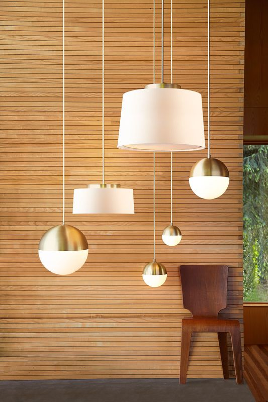 Clic Modernist House In Portland Inspires A Lighting And Furniture Line Lights Pendant