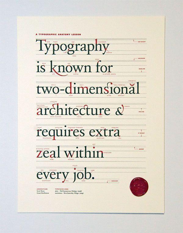typography lesson   neat   Pinterest   Tipografía, Letras tipos y Letras
