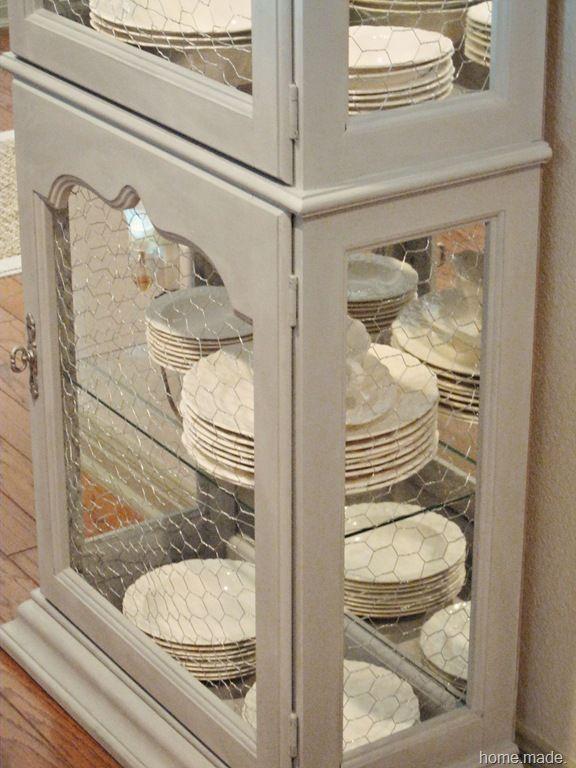 Curio Transformation Curio Cabinet Makeover Primitive