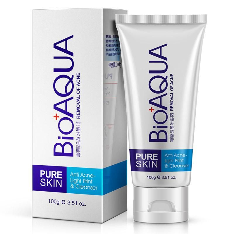 BIOAQUA Acne Remove Facial Cleaner Oil Control Face