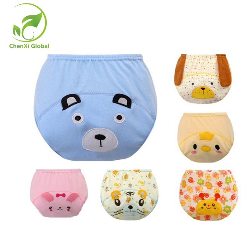 c5b0e4d7e Cute Baby Diapers Reusable Infants Nappies Cloth Diaper Washable ...