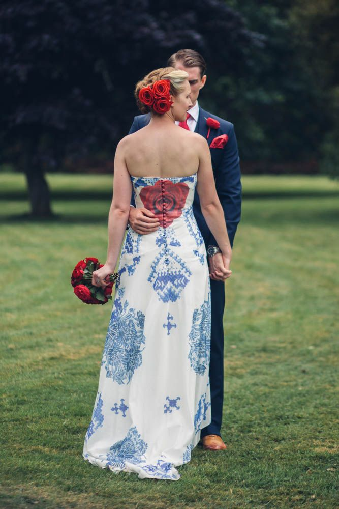 Elegant Red, White and Blue Wedding: Cameron & Lizzy | Not your ...