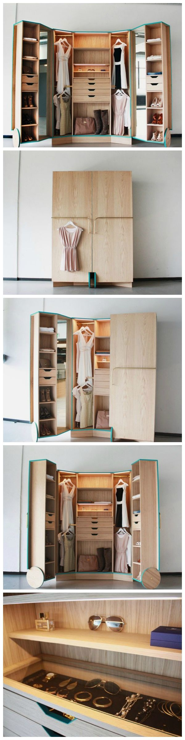 Good Solution for Spacious Storage with Walk-in Closet | B ...