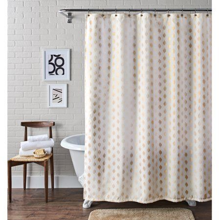 Home Shower Curtains Walmart Bathroom Decor