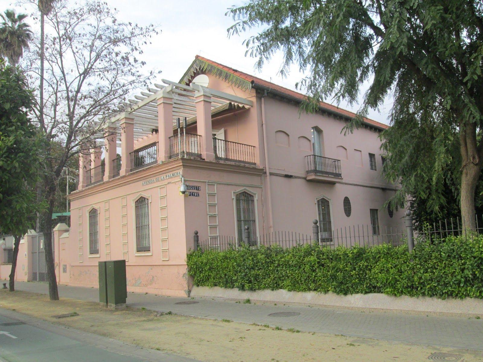 La Casa Rosa Fachada Posterior Ciudad De Sevilla Sevilla