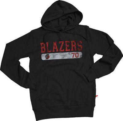 25d98db5738db Trail Blazers Belgian Fashion Thermal Hooded Sweatshirt