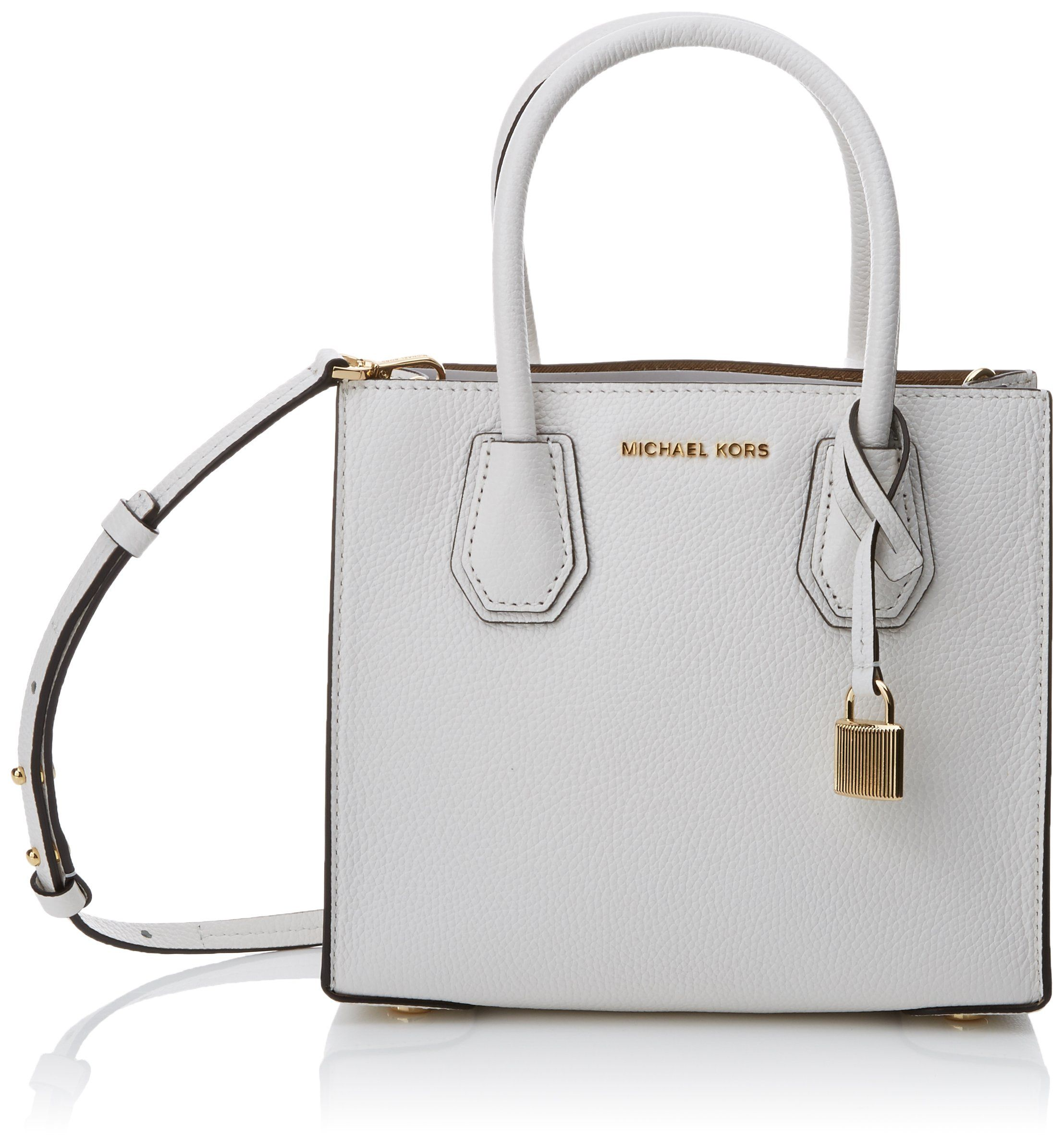 bbeb2df8563a MICHAEL Michael Kors KORS STUDIO Mercer Medium Messenger Optic White * To  view further for this item, visit the image link. (This is an affiliate  link) # ...