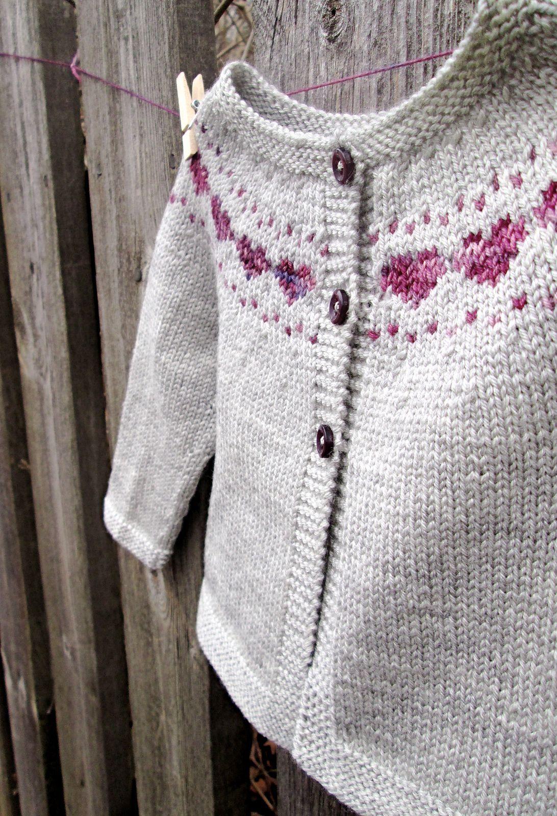 Little Hearts pattern by Maria Montzka