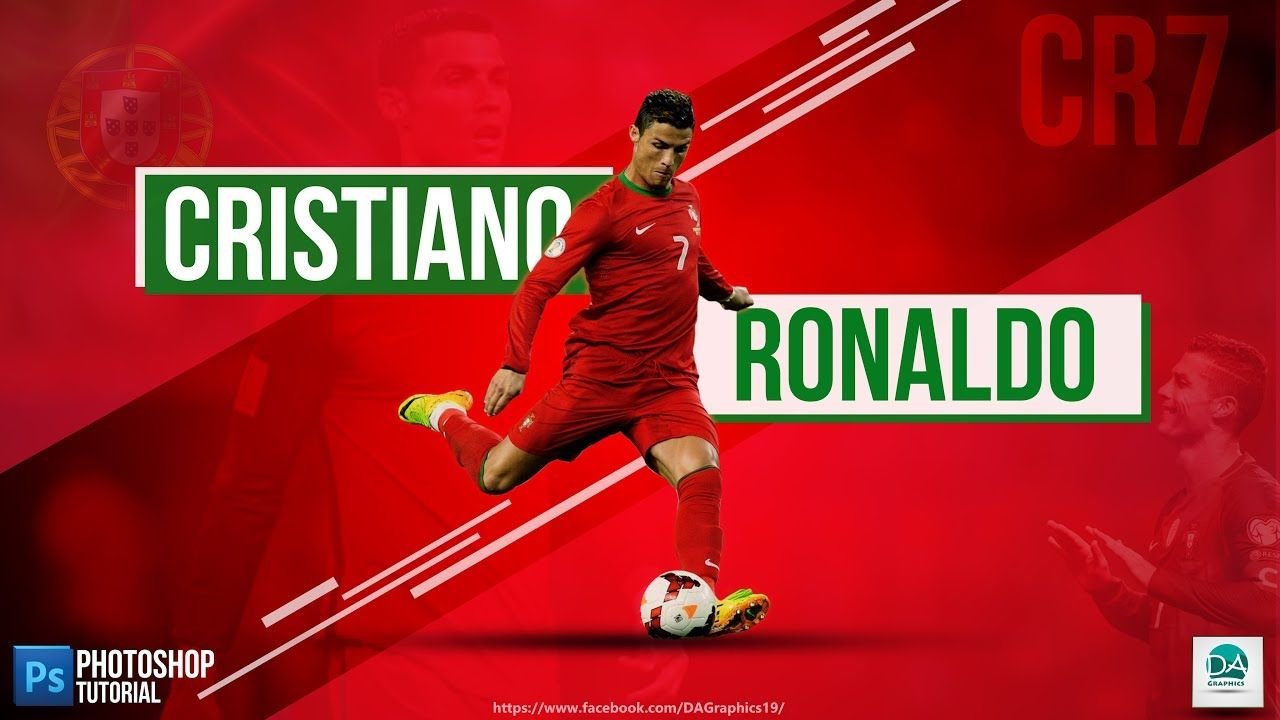 Photoshop Tutorial Professional Sports Football Wallpaper Of Cristiano Football Wallpaper Sport Football Professional Sports