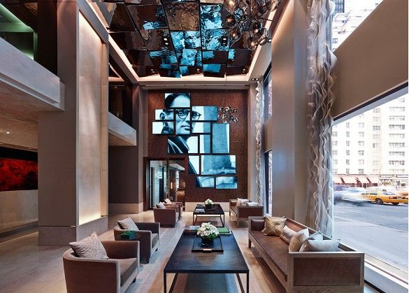 The Most Stylish (and Affordable!) New Hotels in Manhattan via @domainehome