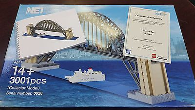 Lego Certified Professional Set The Tyne Bridge with Certificate of Authenticity https://t.co/Yn8h6U8VFU https://t.co/Dbzr0tPFzx