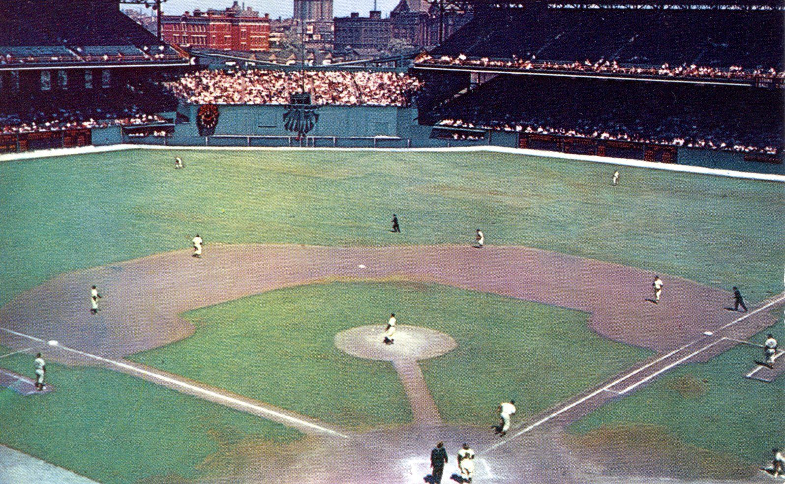 1950s Postcard Of Comiskey Park Chicago You Mean Mother