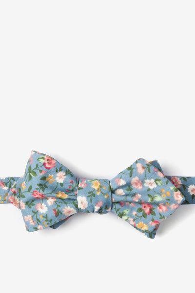 Seasonal Flower Self-Tie Bow Tie