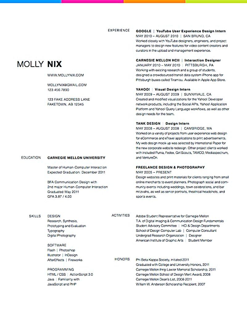 resume of graphic designer graphic designer resume must have a