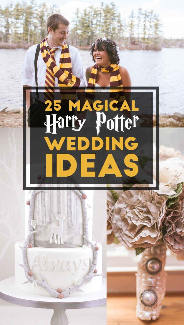 25 Completely Magical Harry Potter Wedding Ideas Riegel