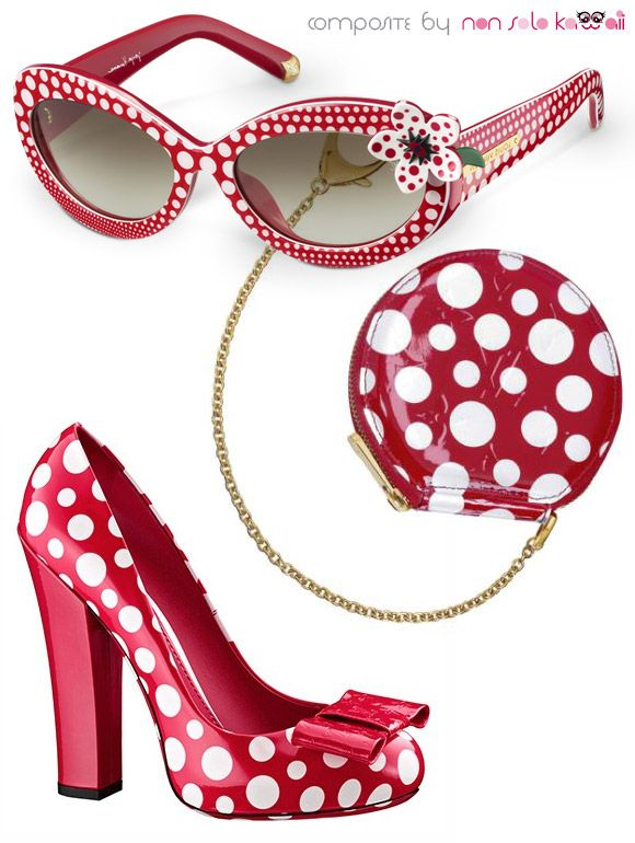 Yayoi Kusama + Louis Vuitton, Capsule Collection 2012