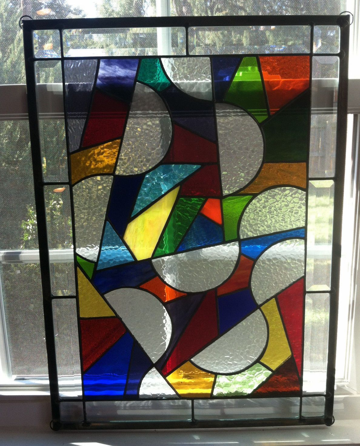 Stained Glass Set Hand Made 15