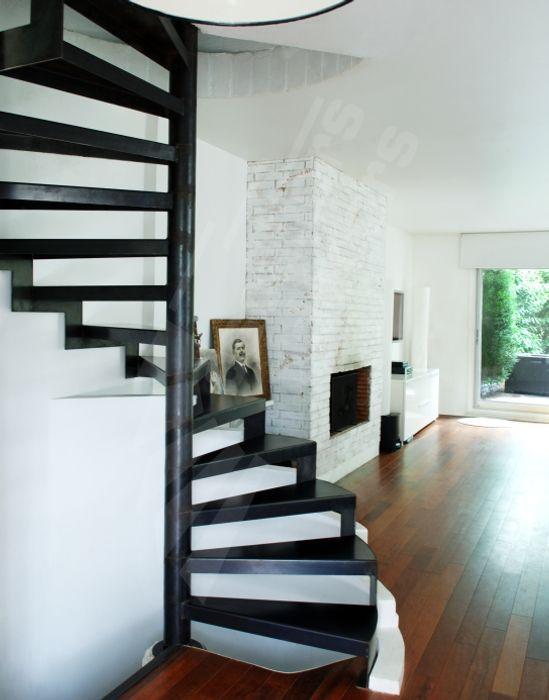 Dh57 Spir Deco Standing D Angle Escalier Metallique En