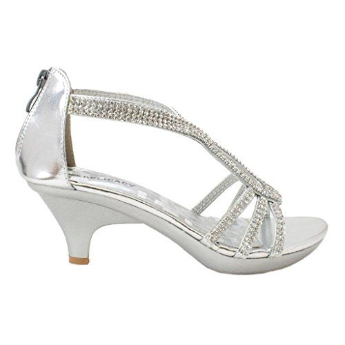 6baaa524243 Delicacy Angel 36 Women Dress Sandals Rhinestone Platform Pumps Wedding  Bridal Low Heel 10 US Delicacy ...