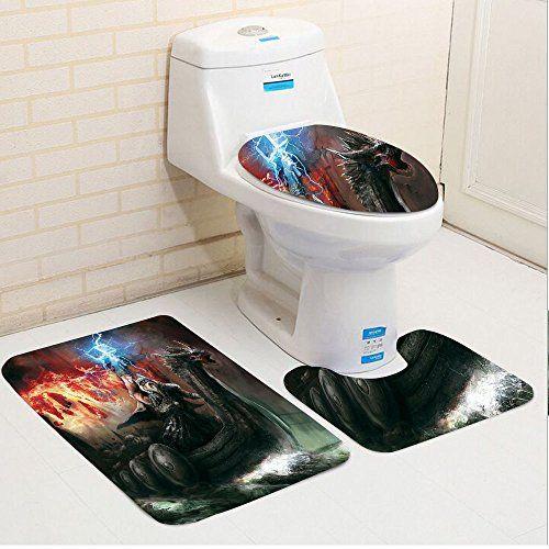 Brilliant Keshia Dwete Three Piece Toilet Seat Pad Customdragon Dark Ocoug Best Dining Table And Chair Ideas Images Ocougorg