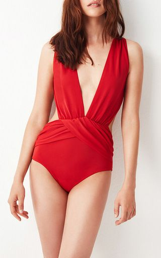 Elvira Daring One Piece by OYE for Preorder on Moda Operandi