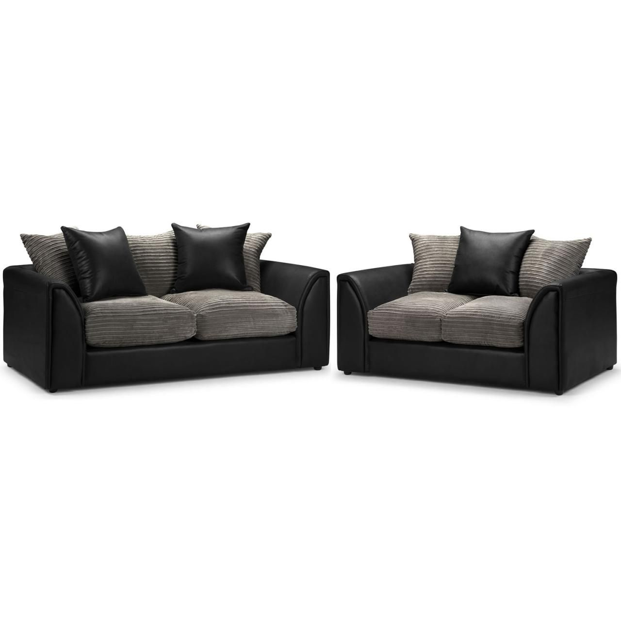 Corduroy 3 Seater Sofa This Byron Three Seater And Two Seater Sofa Set Is Also In The