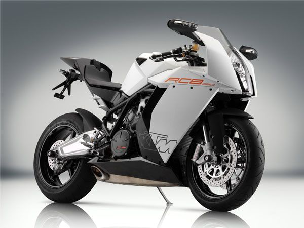 Top 10 List Of Sports Bikes Ktm Rc8 Ktm Sport Bikes