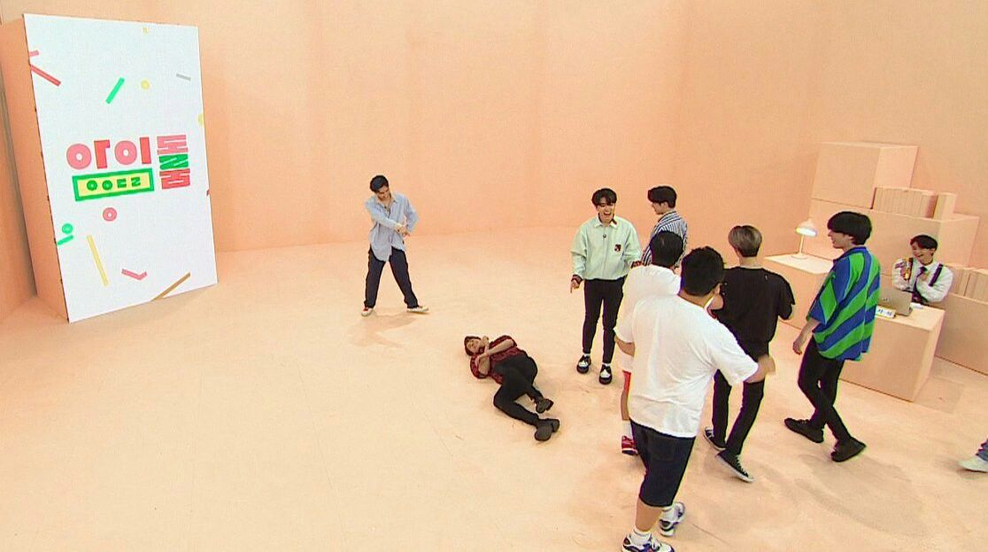 Hyunjin on JTBC IDOL ROOM EP 20 with GOT7 | Stray Kids