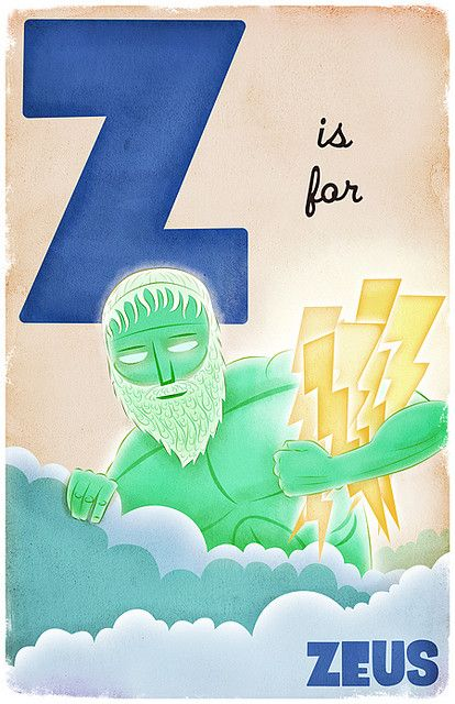 """Its spelled """"ZEUS"""" get it right!"""