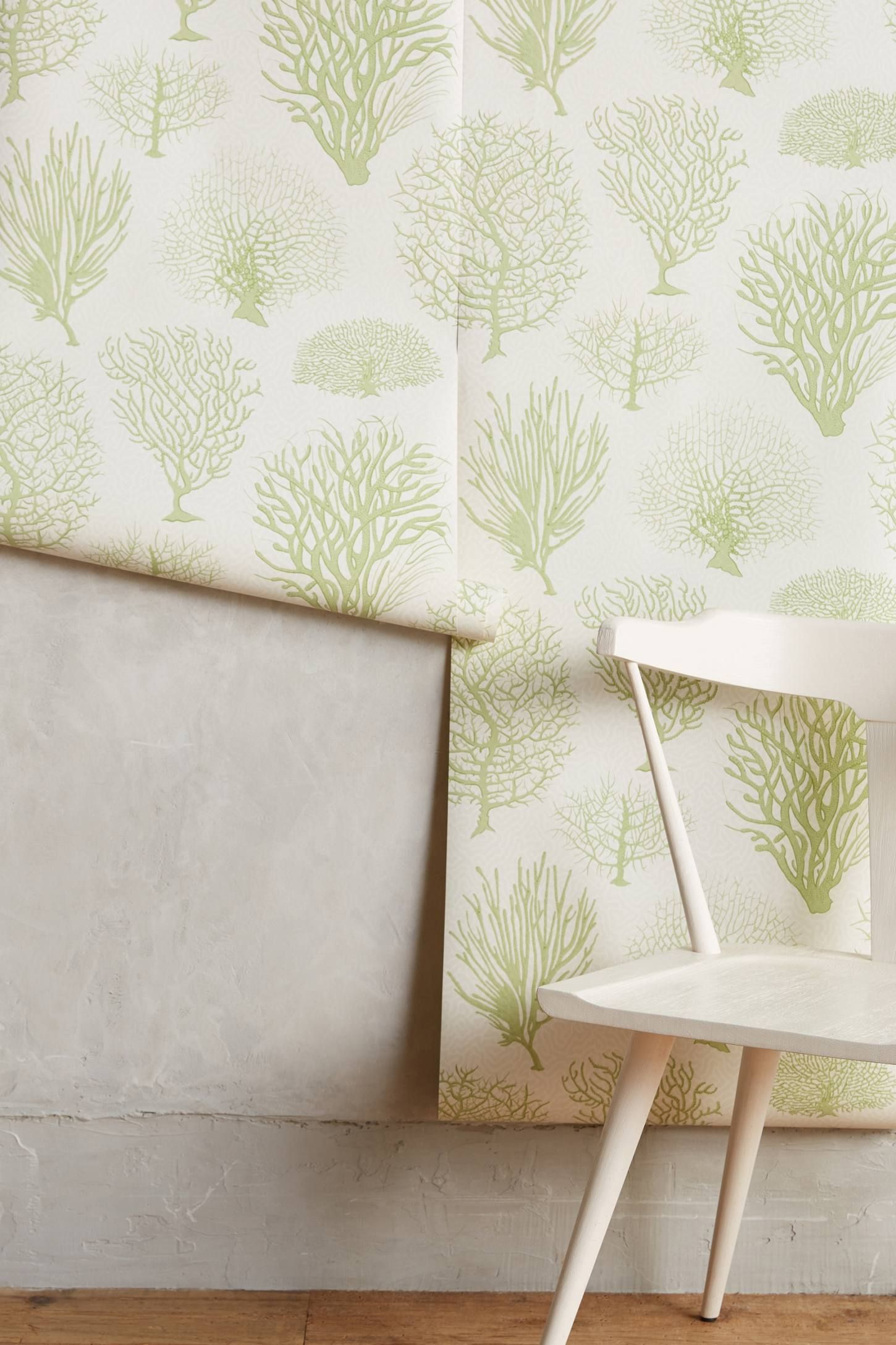 Shop the Sea Fern Wallpaper and more Anthropologie at