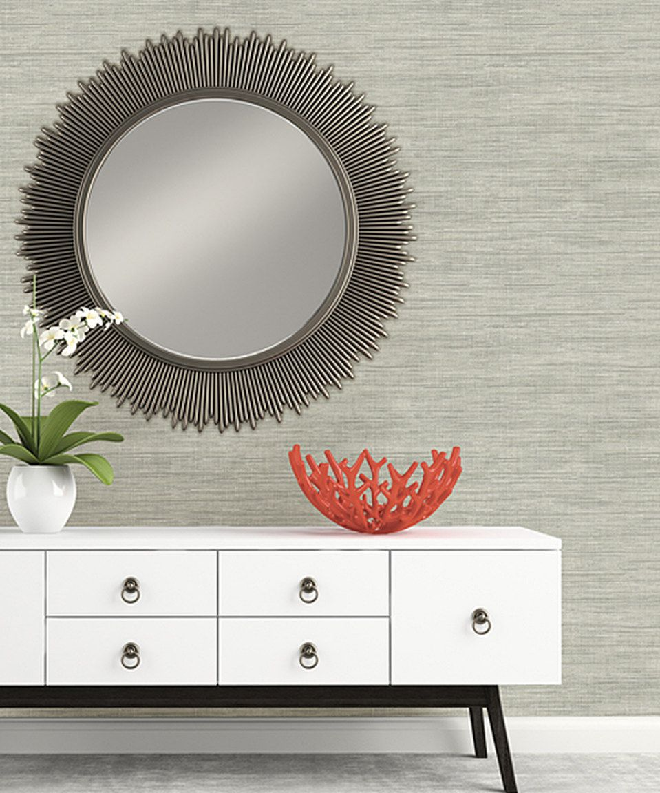 Take a look at this Island Gray Grasscloth Wallpaper today