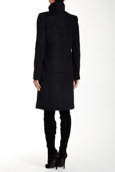 Wool Blend Containment Coat
