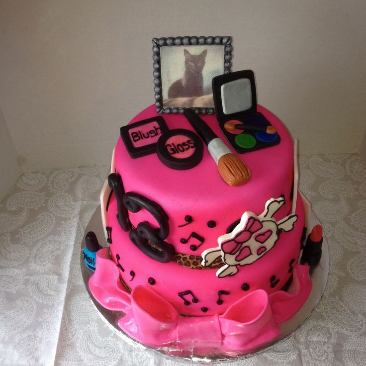 birthday cake design for teenage girls Google Search cakes full