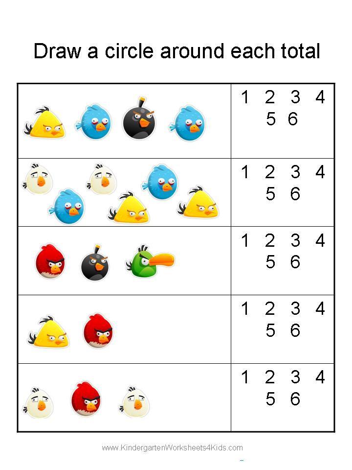 Kindergarten Worksheets Angry Birds 8 Jpg 720 960 Kindergarten