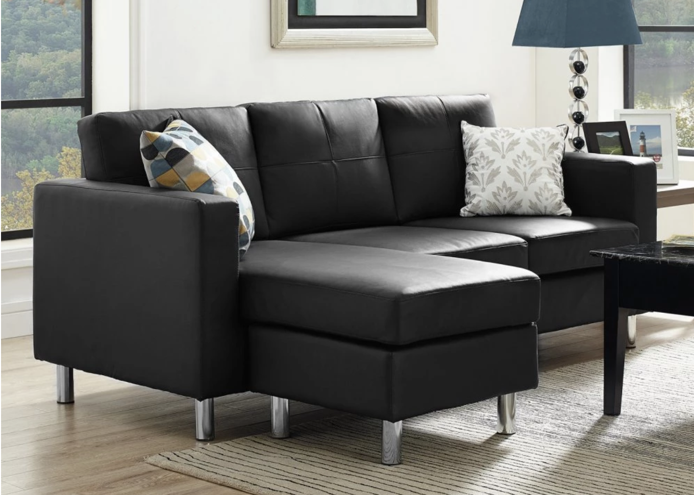 75 Modern Sectional Sofas for Small Spaces 2018 Small spaces