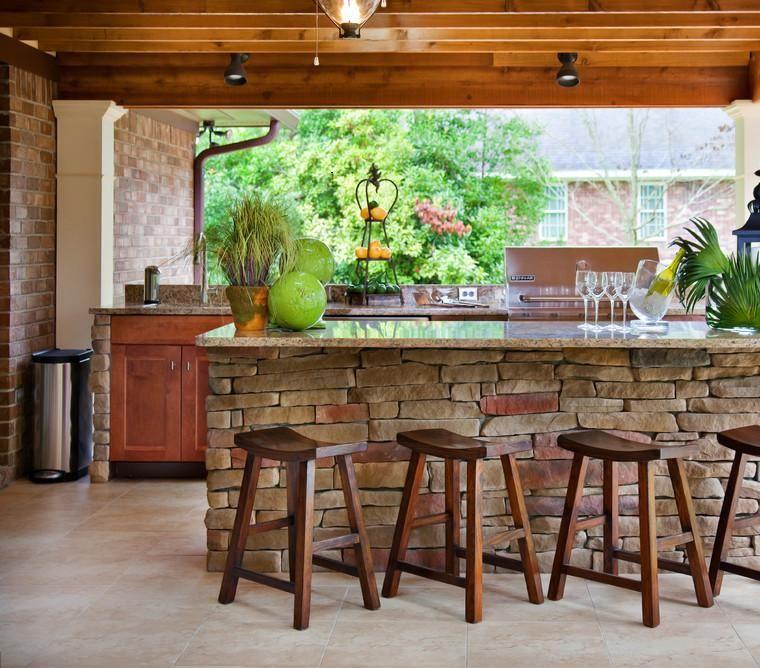 Terrazas cubiertas decoracion y diseño - 48 ideas Terraza cubierta