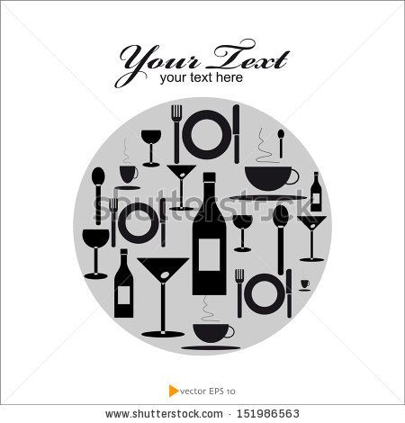 #Food and #Drink #vector #resteurant #gastronomy #bar #WineBar