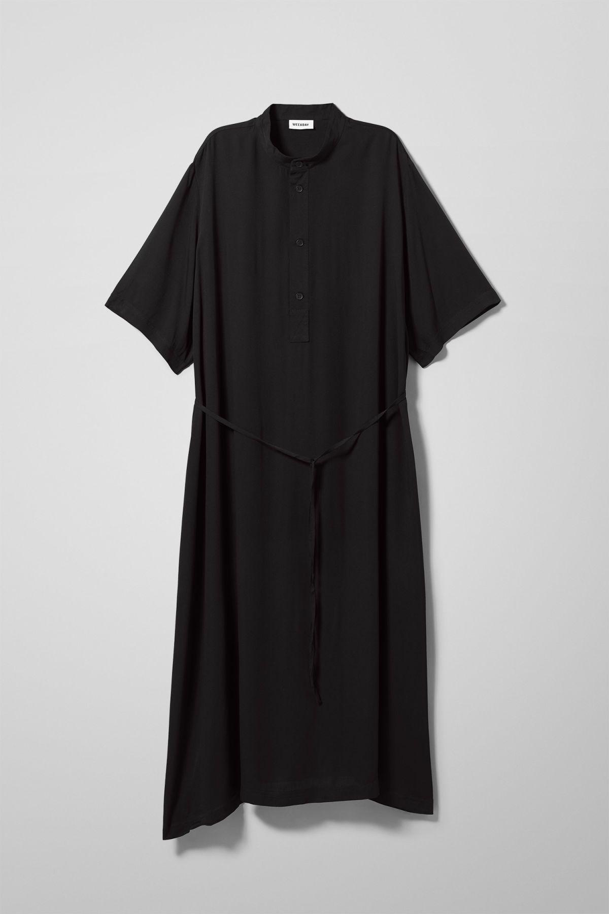 635c08708b Yana Dress - Blue - Dresses  amp  Jumpsuits - Weekday GB Jumpsuit Dress