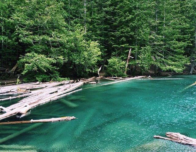 Lindeman Lake in Chilliwack BC